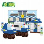 BiOBUDDi - Police Station - Eco Friendly Block Set - 41 Blocks